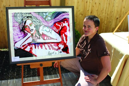 Winner of annual CIP National Art Contest